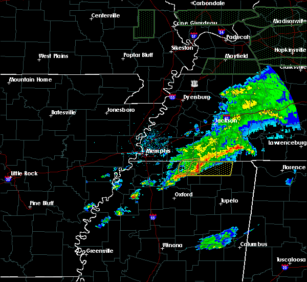 Radar Image for Severe Thunderstorms near Corinth, MS at 3/3/2020 3:58 AM CST