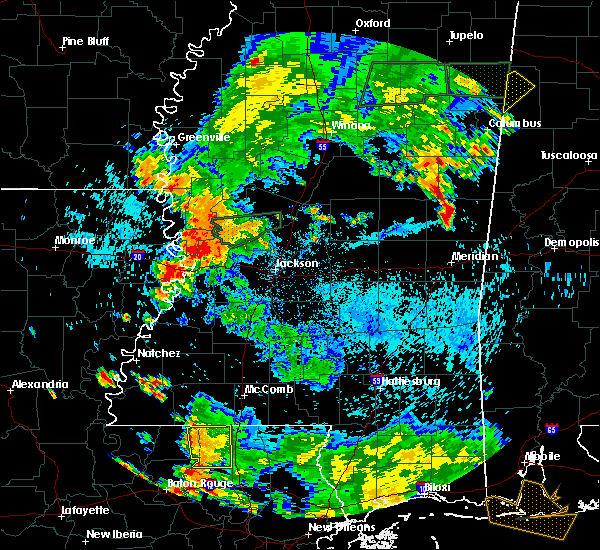 Radar Image for Severe Thunderstorms near Vicksburg, MS at 6/24/2015 6:14 PM CDT
