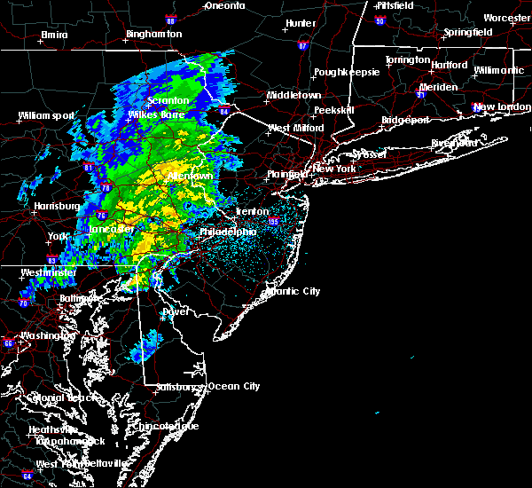 Radar Image for Severe Thunderstorms near Bally, PA at 3/3/2020 8:42 PM EST