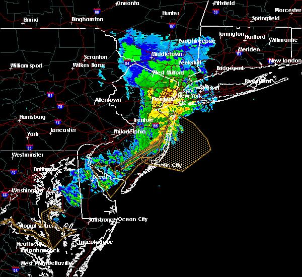 Radar Image for Severe Thunderstorms near Silver Ridge, NJ at 3/3/2020 10:21 PM EST