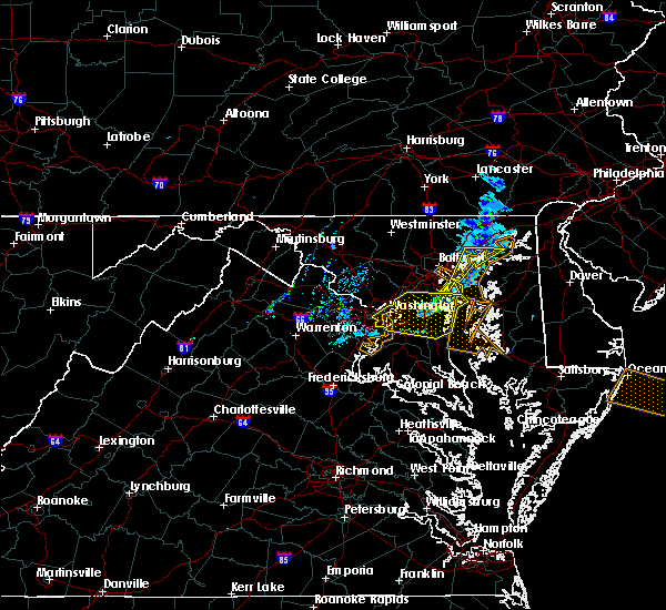 Radar Image for Severe Thunderstorms near Bowleys Quarters, MD at 3/4/2020 12:11 AM EST