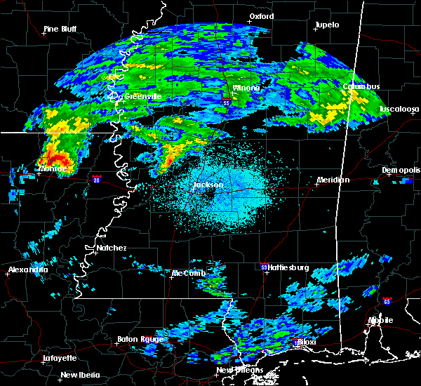 Radar Image for Severe Thunderstorms near Lake Providence, LA at 3/4/2020 12:30 AM CST