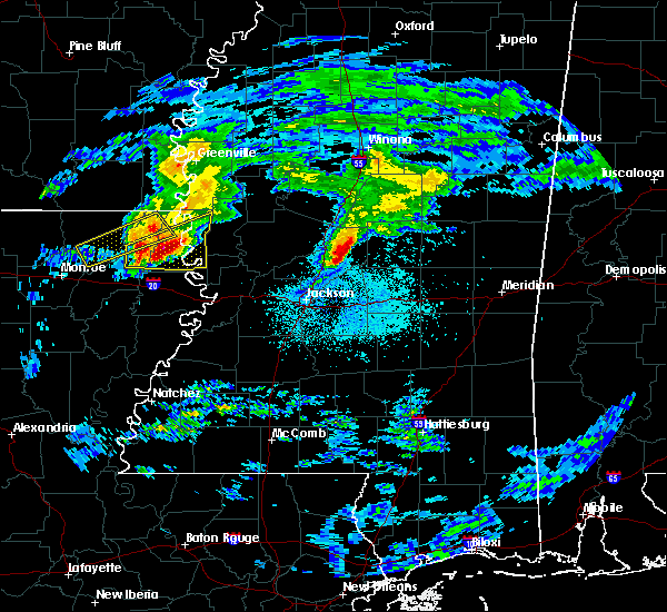 Radar Image for Severe Thunderstorms near Lake Providence, LA at 3/4/2020 1:05 AM CST
