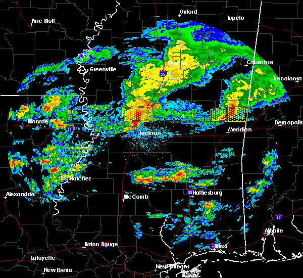 Radar Image for Severe Thunderstorms near Ridgeland, MS at 3/4/2020 2:31 AM CST
