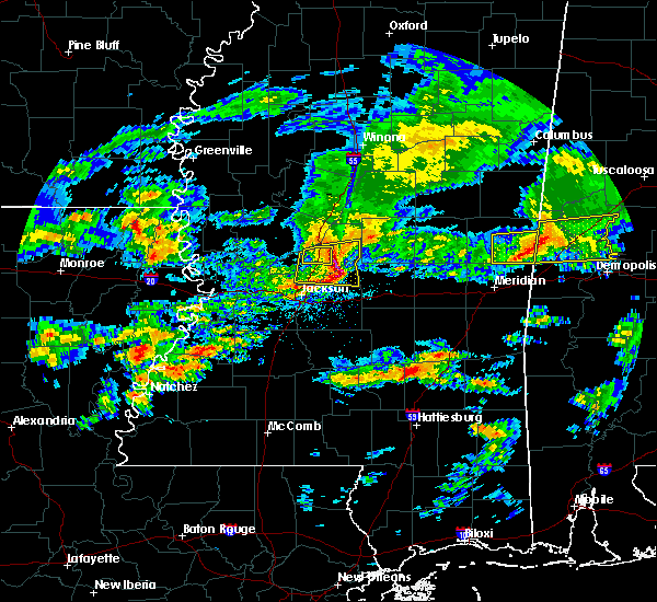 Radar Image for Severe Thunderstorms near Ridgeland, MS at 3/4/2020 2:48 AM CST