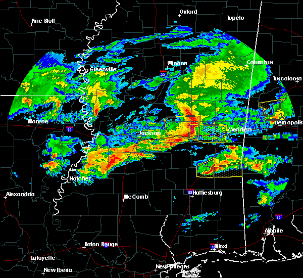 Radar Image for Severe Thunderstorms near Newton, MS at 3/4/2020 3:26 AM CST