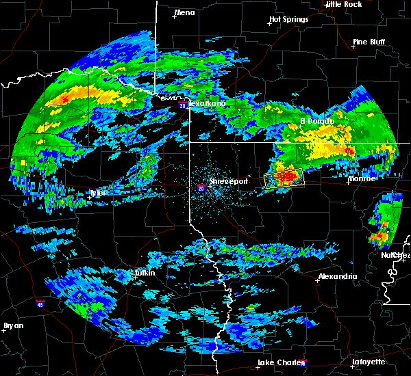 Radar Image for Severe Thunderstorms near Vienna, LA at 3/4/2020 3:30 AM CST
