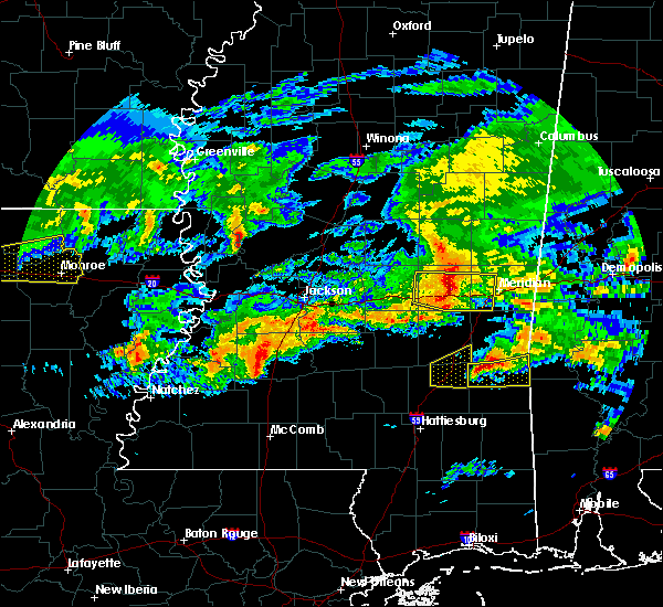 Radar Image for Severe Thunderstorms near New Hebron, MS at 3/4/2020 3:47 AM CST