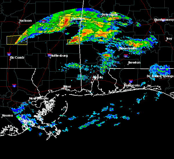 Radar Image for Severe Thunderstorms near Silas, AL at 3/4/2020 4:00 AM CST