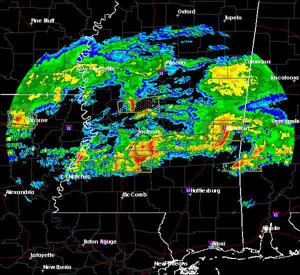 Radar Image for Severe Thunderstorms near New Hebron, MS at 3/4/2020 4:15 AM CST
