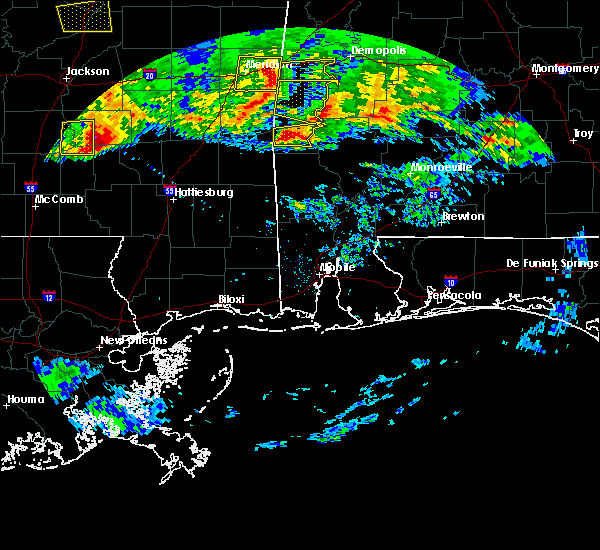 Radar Image for Severe Thunderstorms near Silas, AL at 3/4/2020 4:24 AM CST