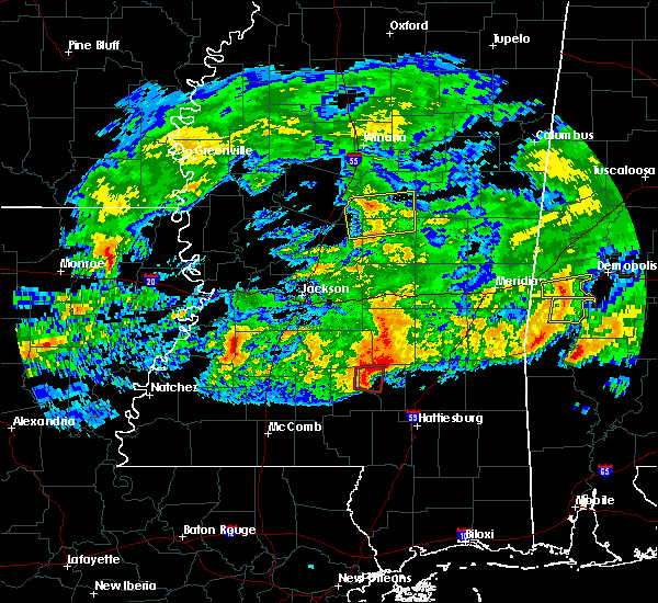 Radar Image for Severe Thunderstorms near Soso, MS at 3/4/2020 4:51 AM CST