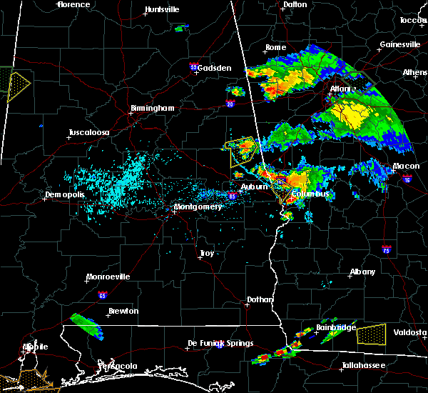 Radar Image for Severe Thunderstorms near Ladonia, AL at 6/24/2015 6:37 PM CDT