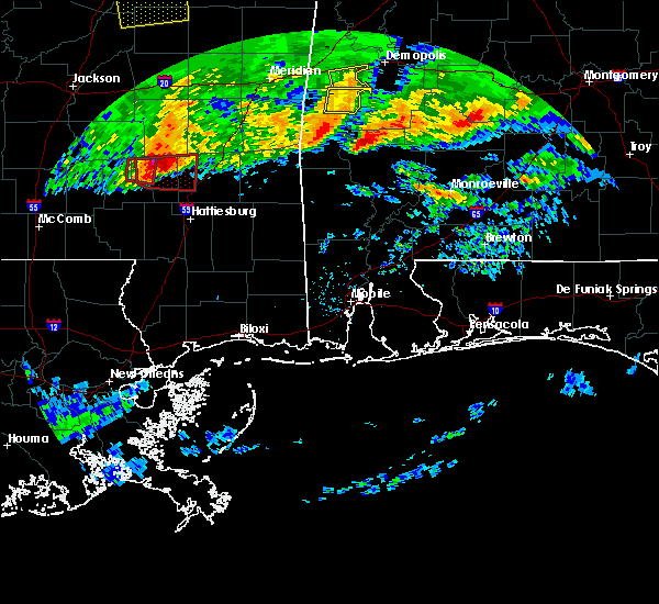 Radar Image for Severe Thunderstorms near Fulton, AL at 3/4/2020 4:58 AM CST
