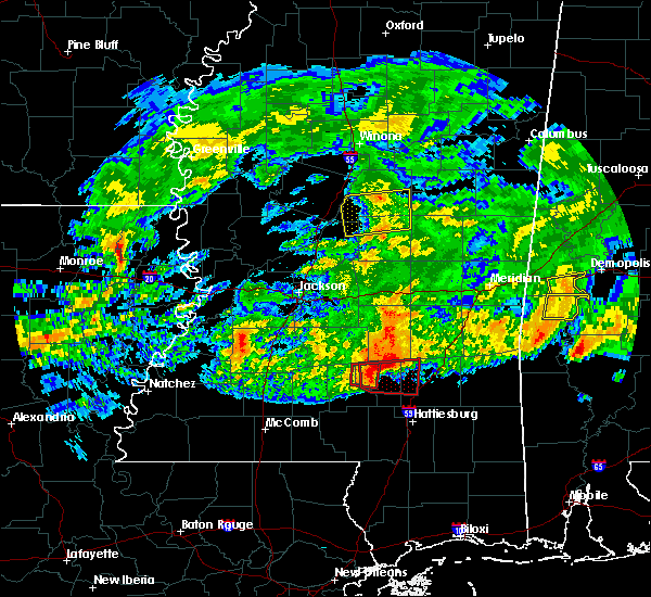 Radar Image for Severe Thunderstorms near Epps, LA at 3/4/2020 5:02 AM CST