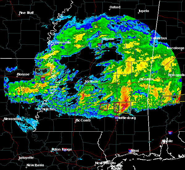 Radar Image for Severe Thunderstorms near Soso, MS at 3/4/2020 5:29 AM CST
