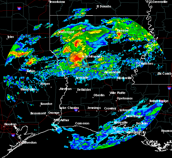 Radar Image for Severe Thunderstorms near Vienna Bend, LA at 3/4/2020 6:30 AM CST
