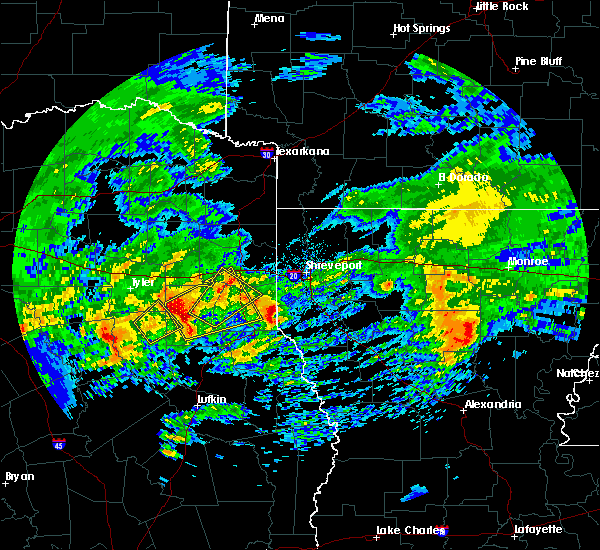 Radar Image for Severe Thunderstorms near Lakeview, LA at 3/4/2020 7:29 AM CST