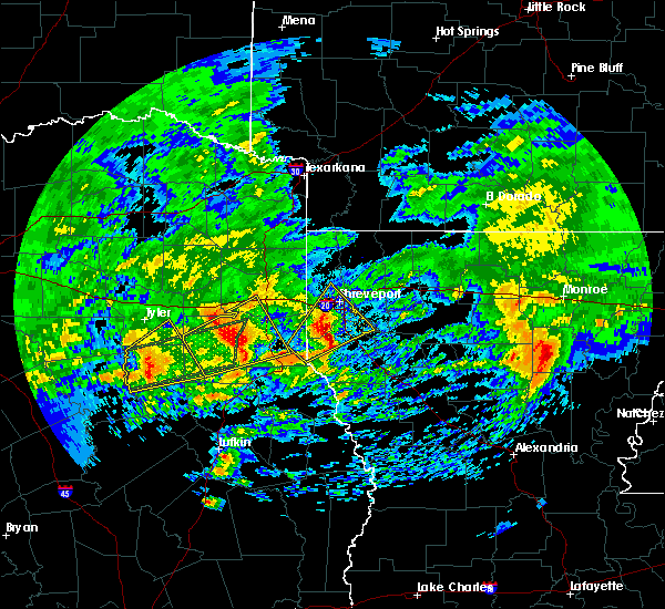 Radar Image for Severe Thunderstorms near Lake Cherokee, TX at 3/4/2020 7:50 AM CST