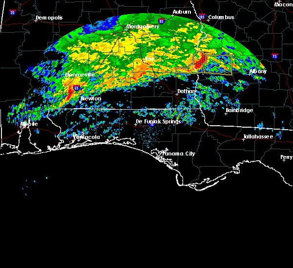Radar Image for Severe Thunderstorms near Red Level, AL at 3/4/2020 7:57 AM CST