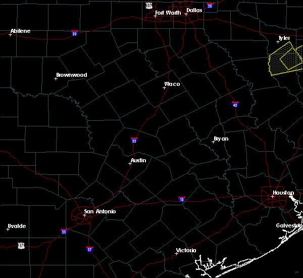 Radar Image for Severe Thunderstorms near Thornton, TX at 3/4/2020 8:41 AM CST