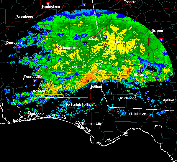 Radar Image for Severe Thunderstorms near Cowarts, AL at 3/4/2020 8:53 AM CST