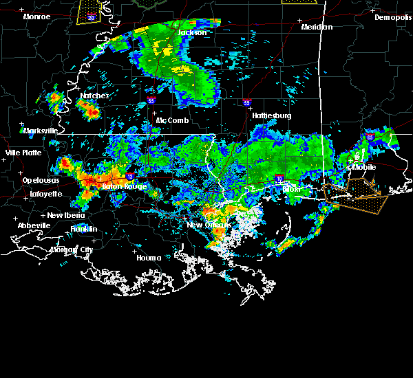 Radar Image for Severe Thunderstorms near Brusly, LA at 6/24/2015 6:46 PM CDT