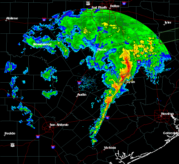 Radar Image for Severe Thunderstorms near Wixon Valley, TX at 3/4/2020 9:09 AM CST