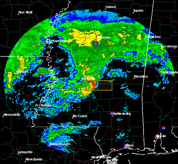 Radar Image for Severe Thunderstorms near Polkville, MS at 3/4/2020 10:26 AM CST