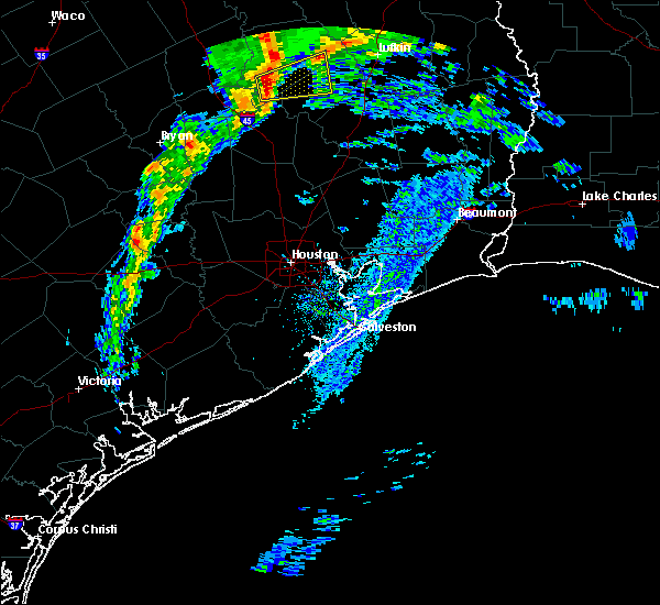 Radar Image for Severe Thunderstorms near Kennard, TX at 3/4/2020 10:26 AM CST