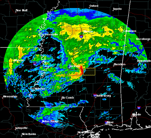 Radar Image for Severe Thunderstorms near Polkville, MS at 3/4/2020 10:35 AM CST