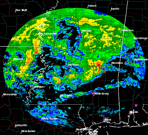 Radar Image for Severe Thunderstorms near Newton, MS at 3/4/2020 11:13 AM CST