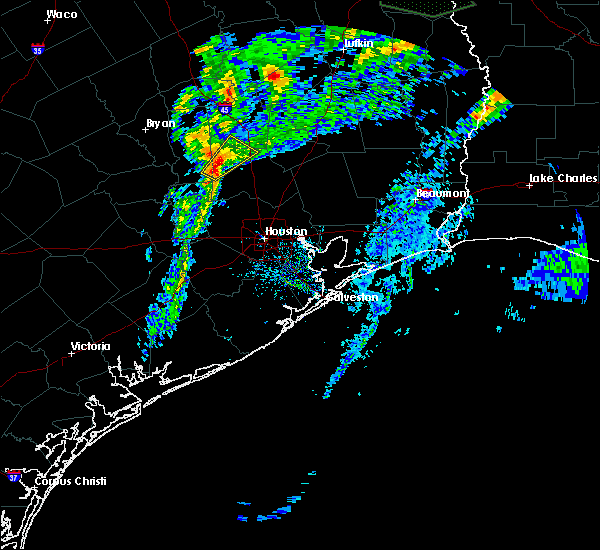 Radar Image for Severe Thunderstorms near Conroe, TX at 3/4/2020 11:42 AM CST