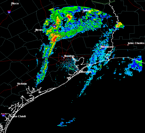 Radar Image for Severe Thunderstorms near Conroe, TX at 3/4/2020 11:50 AM CST