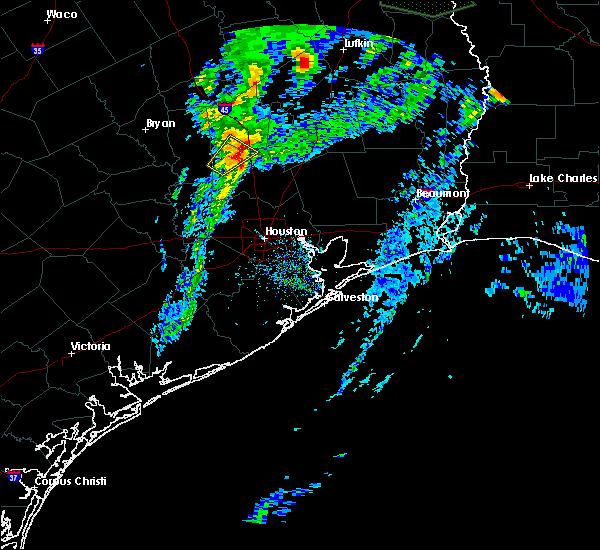 Radar Image for Severe Thunderstorms near Conroe, TX at 3/4/2020 12:04 PM CST