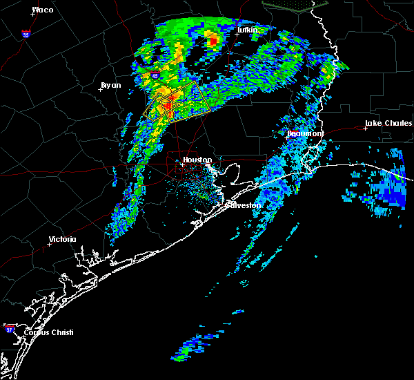 Radar Image for Severe Thunderstorms near Conroe, TX at 3/4/2020 12:10 PM CST