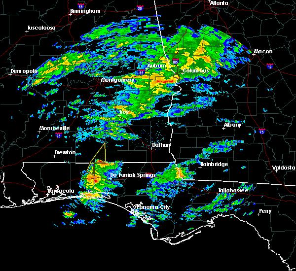Radar Image for Severe Thunderstorms near Enterprise, AL at 3/5/2020 4:17 AM CST