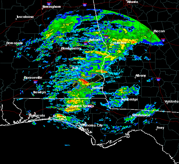 Radar Image for Severe Thunderstorms near Eufaula, AL at 3/5/2020 5:02 AM CST