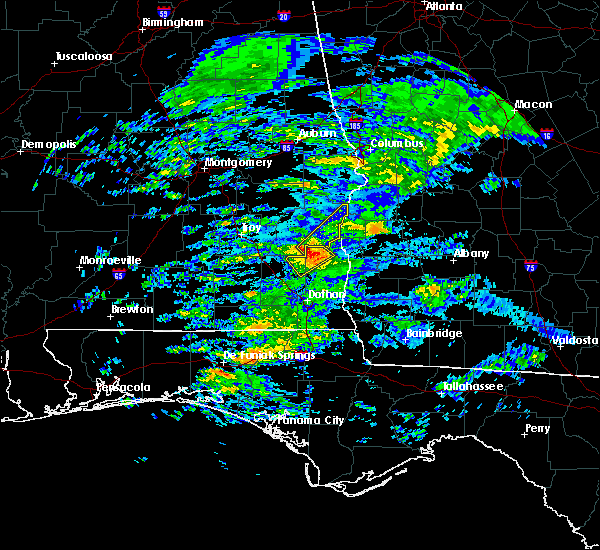 Radar Image for Severe Thunderstorms near Eufaula, AL at 3/5/2020 5:13 AM CST