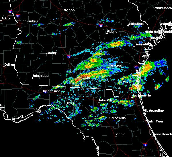 Radar Image for Severe Thunderstorms near Lake Park, GA at 3/5/2020 2:56 PM EST