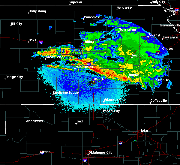 Radar Image for Severe Thunderstorms near Walton, KS at 3/11/2020 2:23 AM CDT