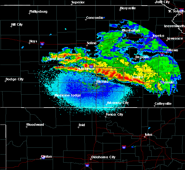 Radar Image for Severe Thunderstorms near Walton, KS at 3/11/2020 2:45 AM CDT