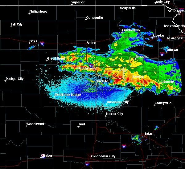 Radar Image for Severe Thunderstorms near Walton, KS at 3/11/2020 3:09 AM CDT