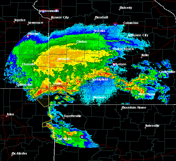 Radar Image for Severe Thunderstorms near Duenweg, MO at 3/11/2020 5:19 AM CDT