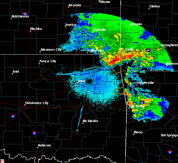 Radar Image for Severe Thunderstorms near Dodge, OK at 3/11/2020 5:31 AM CDT