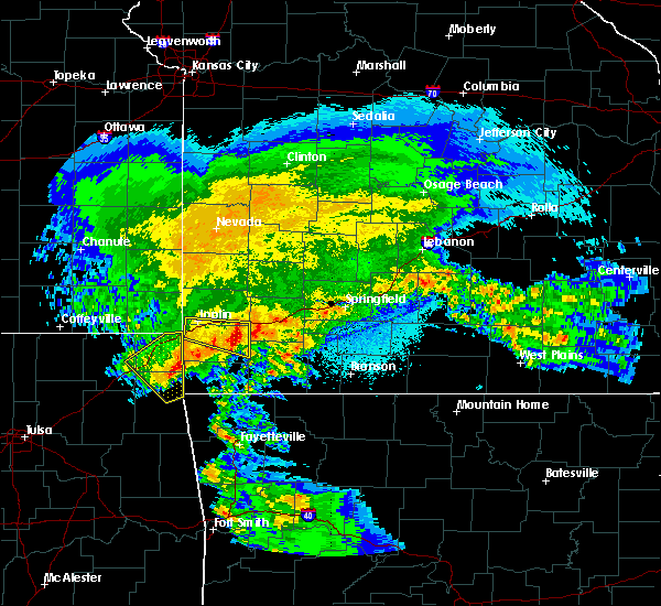 Radar Image for Severe Thunderstorms near Stella, MO at 3/11/2020 5:38 AM CDT