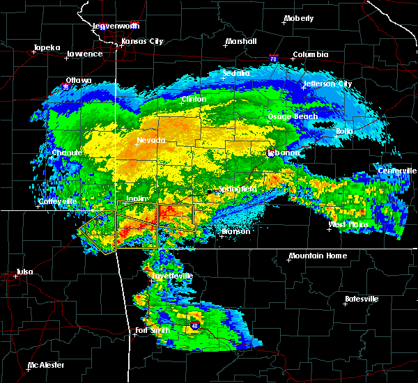 Radar Image for Severe Thunderstorms near Stella, MO at 3/11/2020 5:48 AM CDT