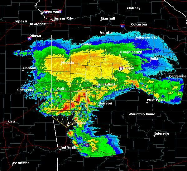 Radar Image for Severe Thunderstorms near Aurora, MO at 3/11/2020 6:07 AM CDT