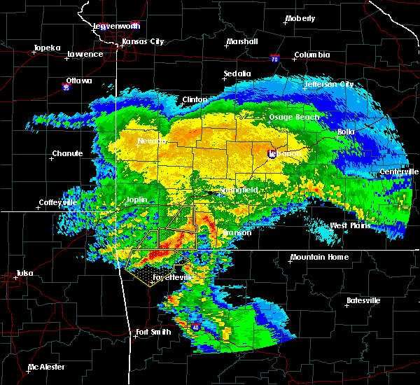 Radar Image for Severe Thunderstorms near Aurora, MO at 3/11/2020 6:17 AM CDT