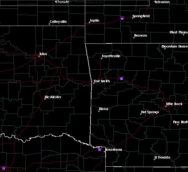 Radar Image for Severe Thunderstorms near Huntsville, AR at 3/11/2020 7:15 AM CDT